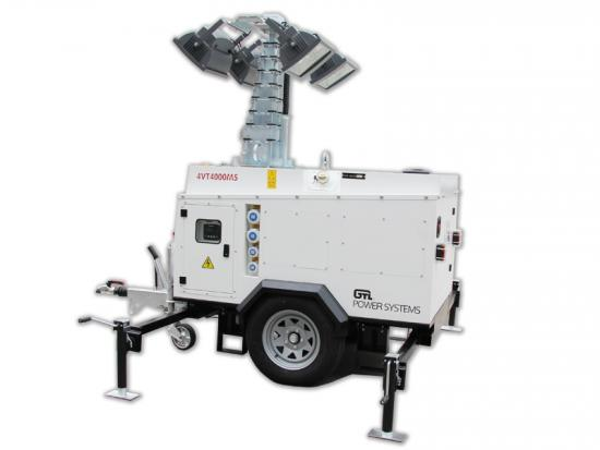 LED Hydraulic Lighting Towers